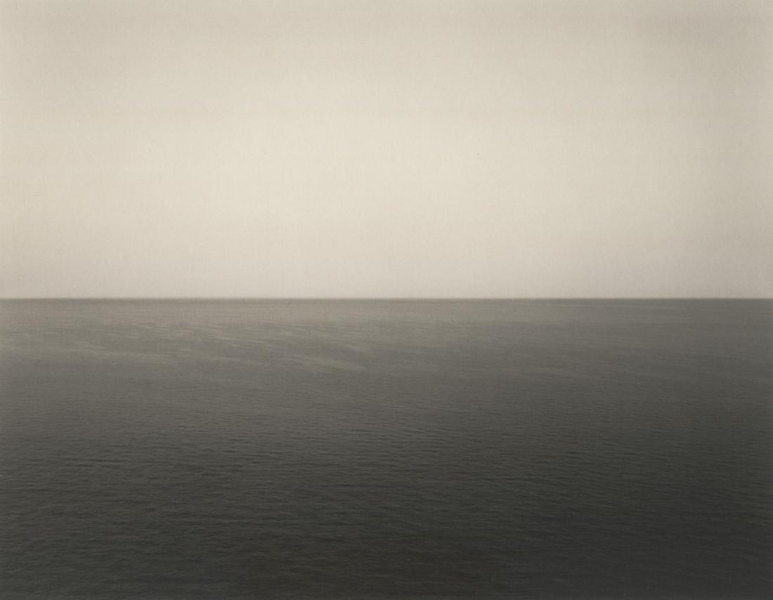 HIROSHI SUGIMOTO - Mirtoan Sea, Sounion, 1990