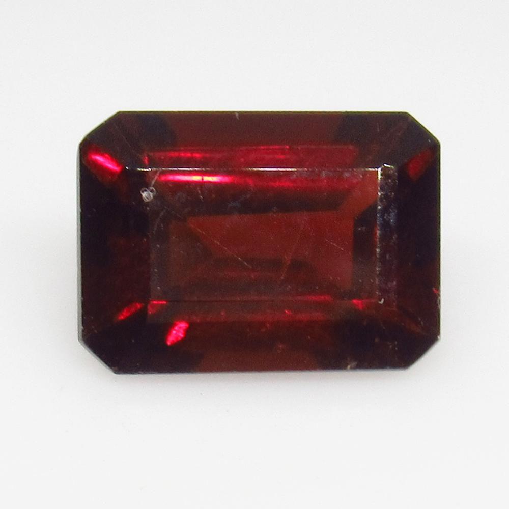 2.86 Ctw Natural Pink Rhodolite Garnet Octagon Cut