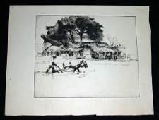 29 Hawaii Print Water Buffalo John Melville Kelly