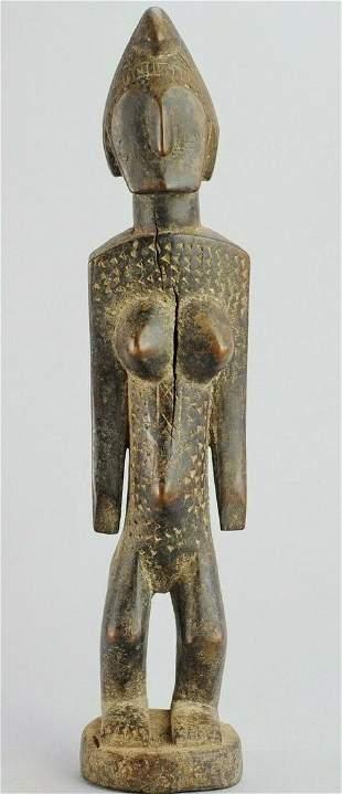 BAMANA Female Figure statue BAMBARA African Tribal Art