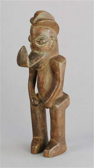 YAKA cute little figure Congo Rdc Bayaka African Tribal