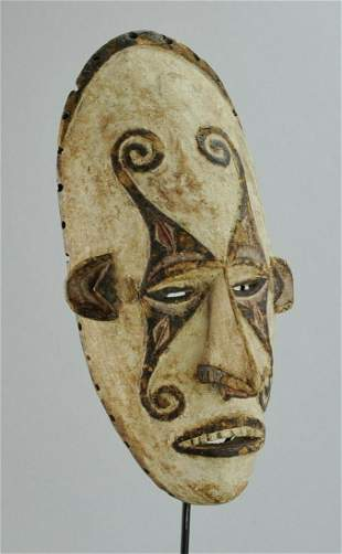 Beautiful IBO mmwo Agbogho Mask sculpture Igbo Nigeria