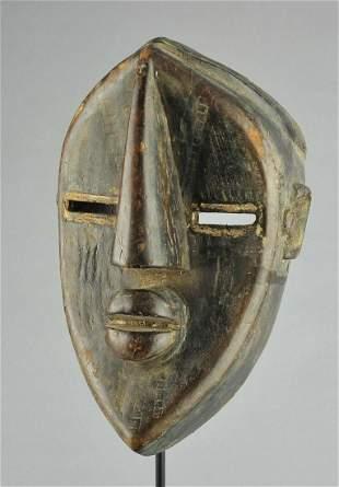 Beautiful LWALWA Lwalu Mask Congo African Tribal Art