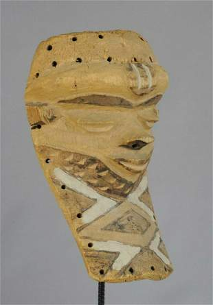 Pende Bapende Mbuya Congo Mask African Tribal Art