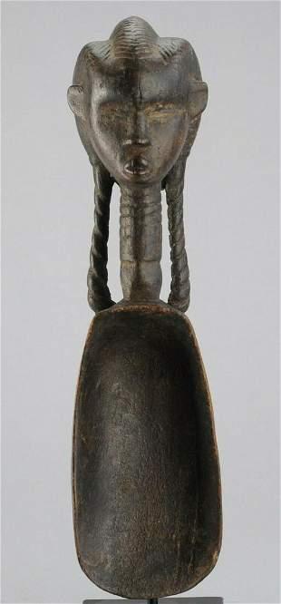Beautiful DAN anthropomorphi; c spoon Ivory Coast