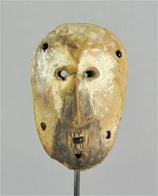 LEGA cute Bwami cult Lukwakongo wooden Mask Congo Drc