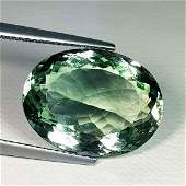 Natural Green Amethyst Oval Cut 12.65 ct
