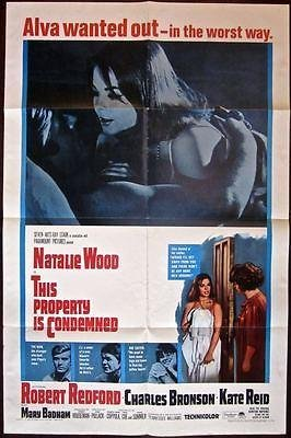 This Property Is Condemned - Original 1966 1 Sheet