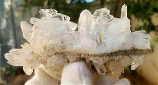 1934 Grams Undamaged Fedan Quartz Crystal 98X77X50 mm