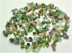 70 Grams Beautiful Tourmaline Rough Crystals Lot