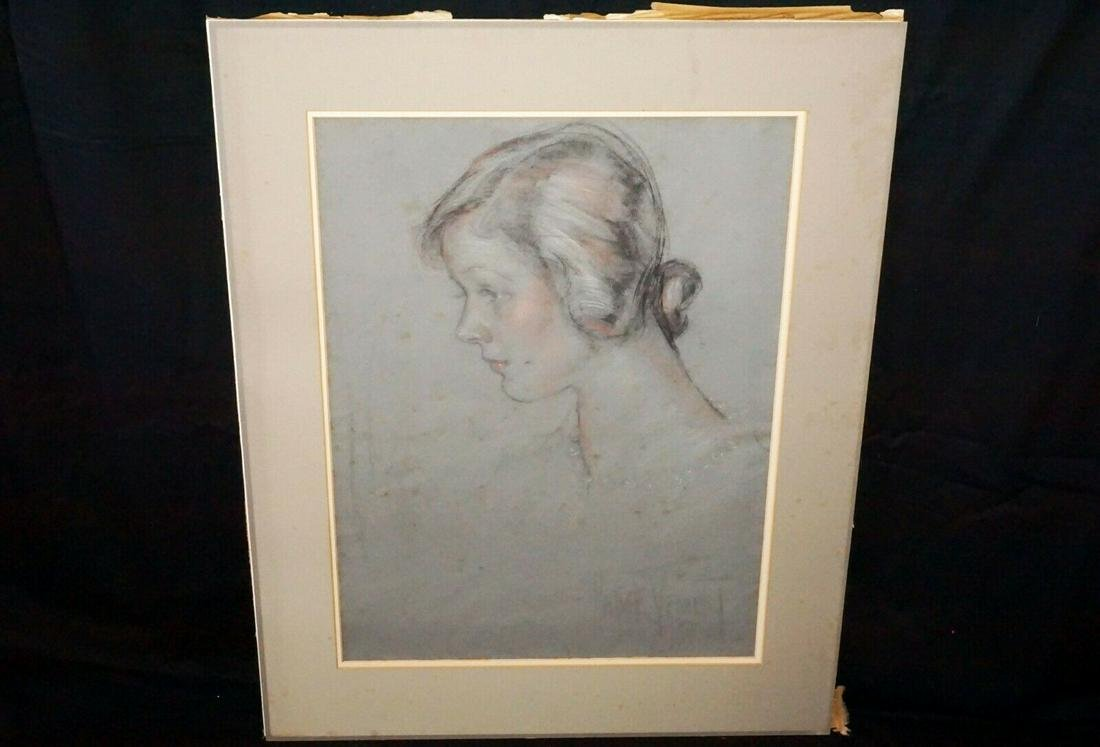 08 Hawaii Painting Young Woman Madge Tennent