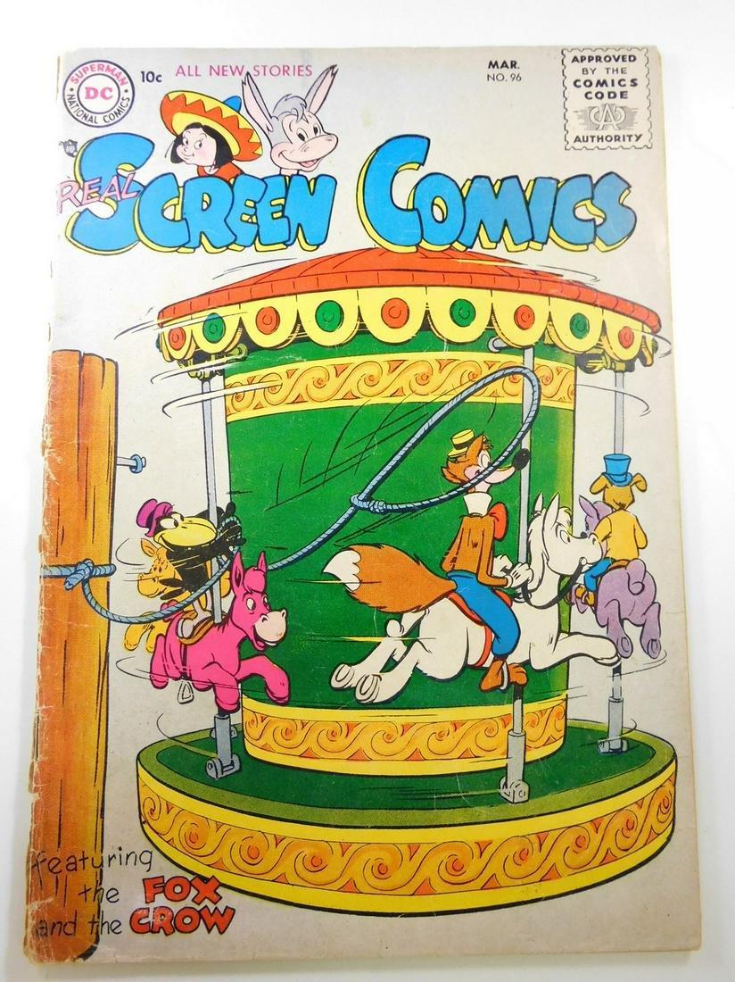 Real Screen Comics #96