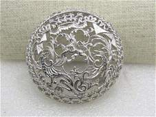 Vintage Sarah Coventry Double Dragon Brooch, with