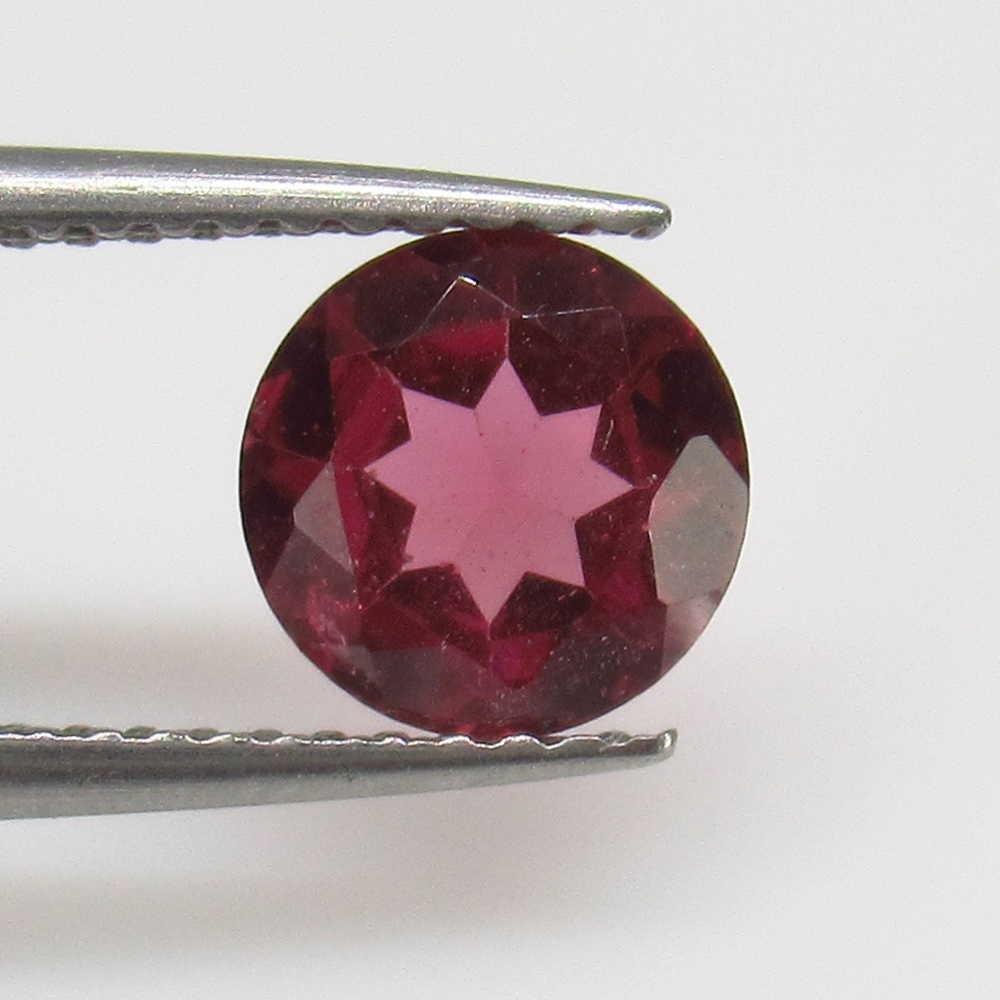 1.19 Ctw Natural Pink Rhodolite Garnet Round Cut