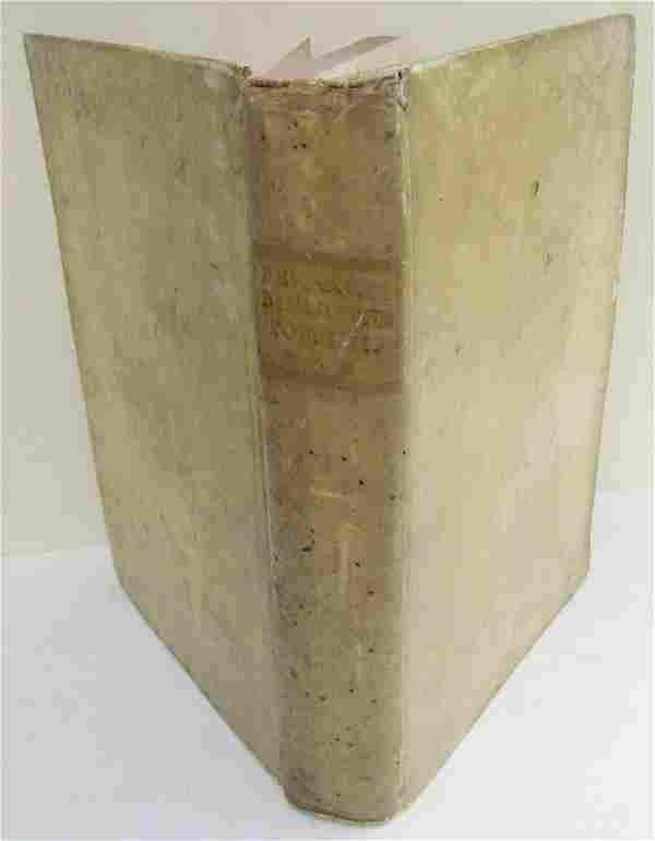 1767 VELLUM BOUND ANTIQUE FOLIO F. LUCII FERRARIS