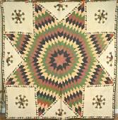 Vintage Star of Bethlehem Sawtooth Borders d 1872