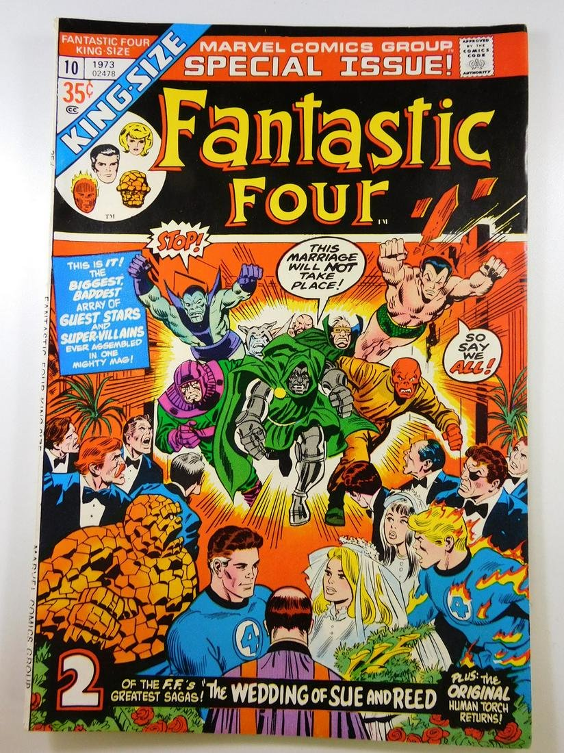 Fantastic Four King-Size Special #10