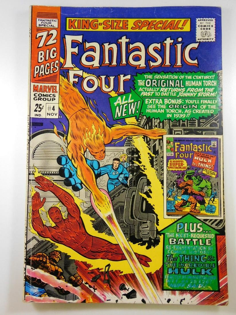 Fantastic Four King-Size Special #4