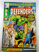 Marvel Feature 1 1st appearance of The Defenders