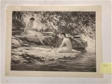 Two bathers, Bolton Brown