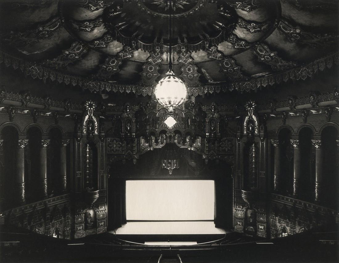 Hiroshi Sugimoto, Fox Theatre, Michigan, 1980