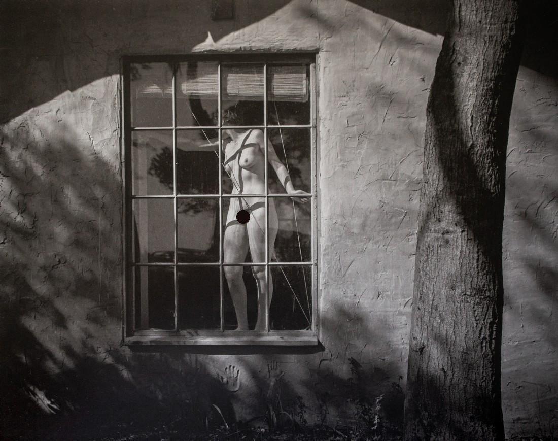 Edward Weston, Nude in Window, 1945
