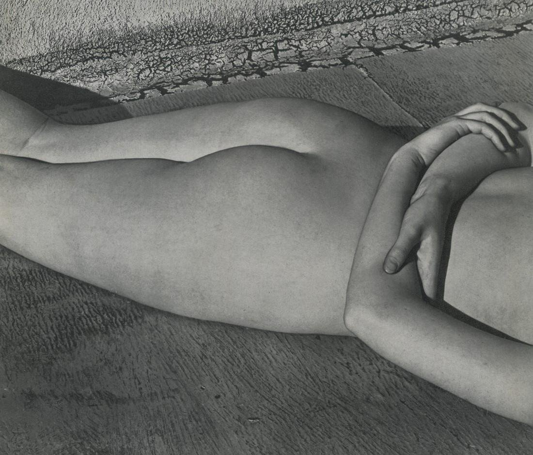 Edward Weston, Nude on Roof