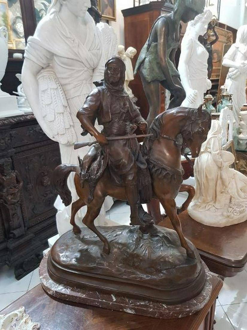 Big Antique Broze Sculpture
