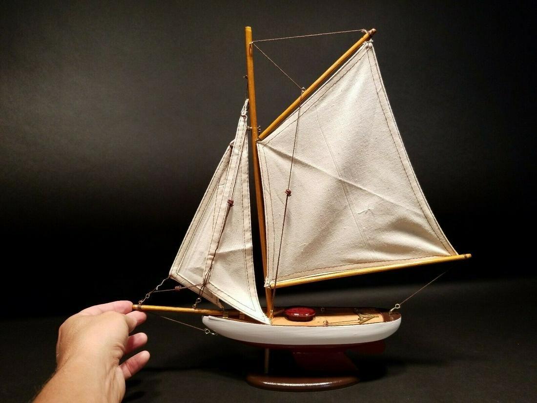Wood Sailing Boat Ship Model