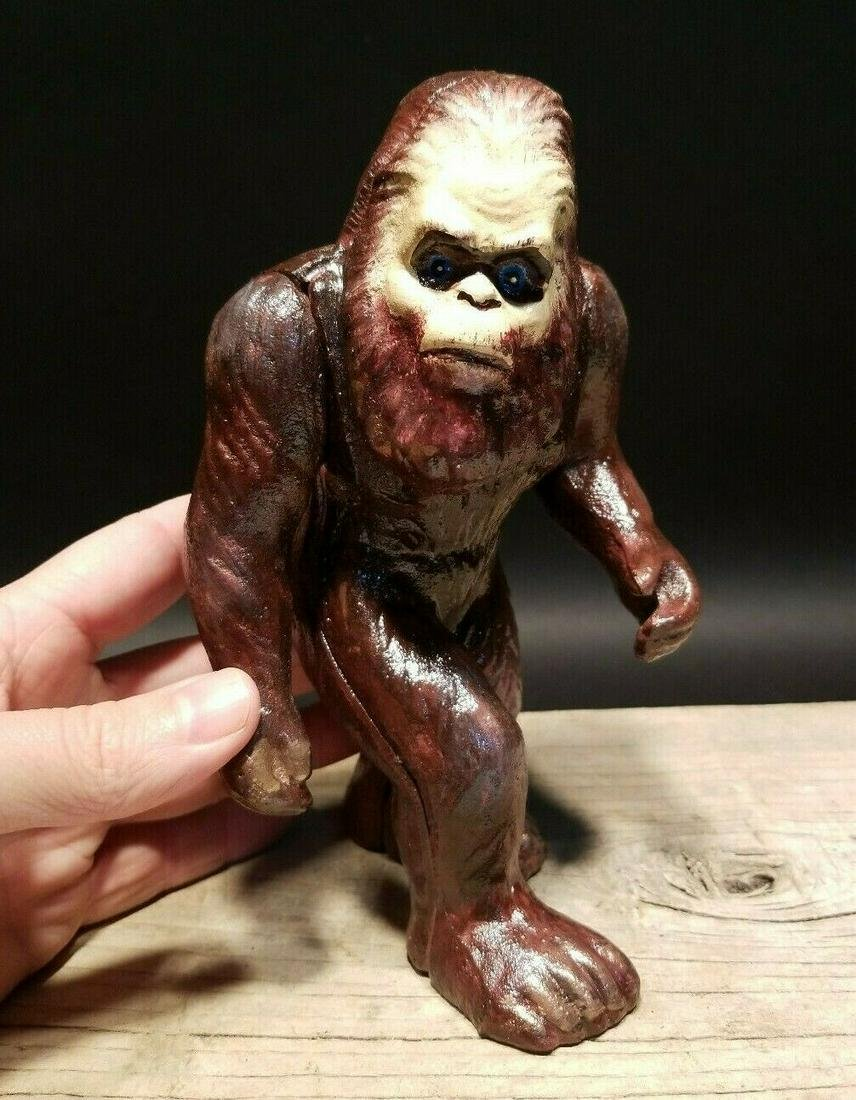 Cast Iron Bigfoot Sasquatch Coin Bank