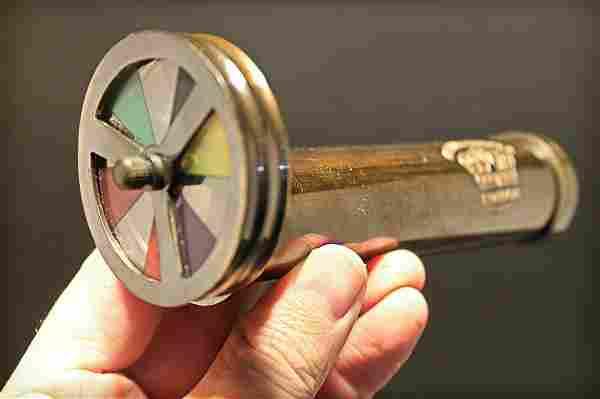 "Brass Kaleidoscope ""London 1917"" Toy"