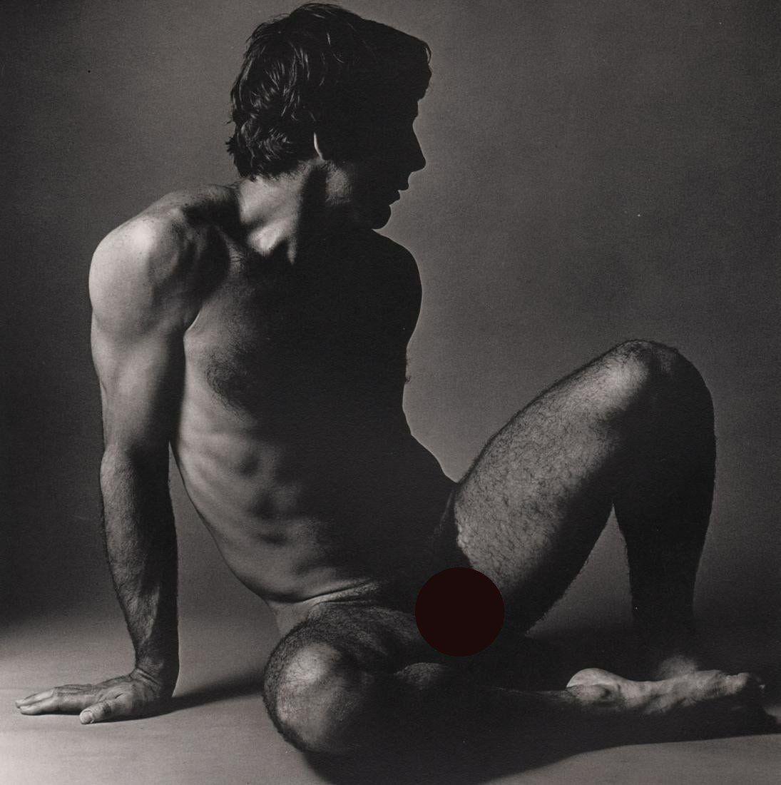 KEN HAAK - Male Nude ,1972 (front)