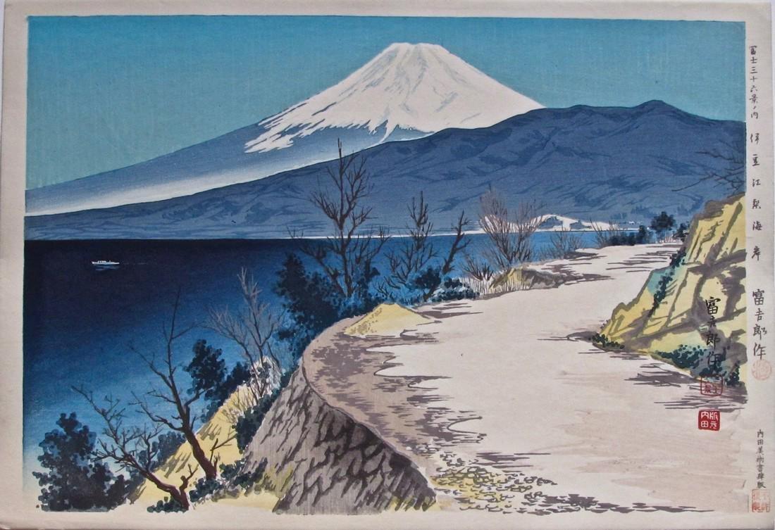 Artist: Tomikichirô TOKURIKI (1902-1999) Subject: Izu