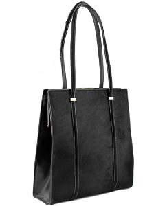 Gucci Black pony hair frame bag