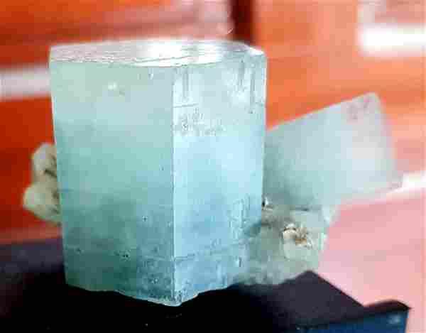Aquamarine Var Beryl Crystal , Natural Aquamarine DT &