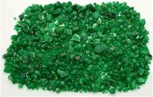 68 Grams Beautiful Green Emerald Rough