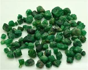 77 Grams Natural Emerald Rough Lot
