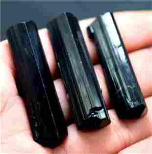 Black Tourmaline Crystals Raw Schrol Tourmaline