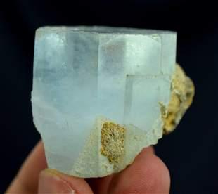 Aquamarine Crystal , Terminated and Damage Free