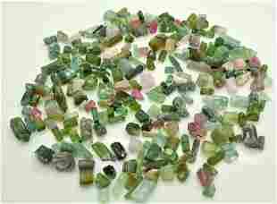 60 Grams Beautiful Tourmaline Rough Crystals Lot