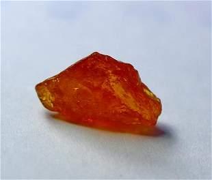 Natural unheated Orange Clinohumite Rough