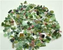 300 Grams Beautiful Tourmaline Rough Crystals Lot