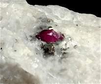 51 Grams Beautiful Ruby Specimen From Hunza Gilgit