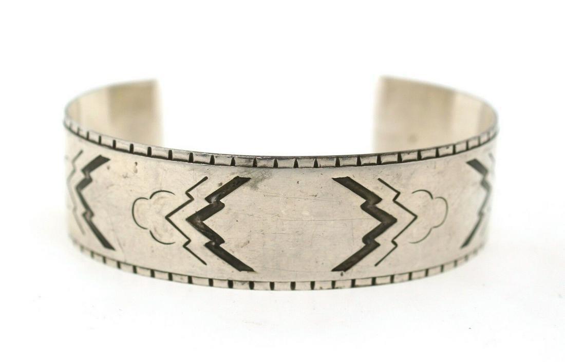 TRENDY Georg Jensen Sterling Silver Navajo Motif