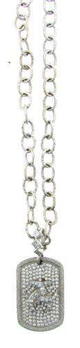 TRENDY Loree Rodkin 18k White Gold & Diamond Necklace!