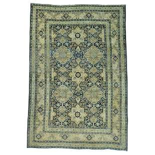 Antique Persian Kerman Exc Cond Hand Knotted Oriental