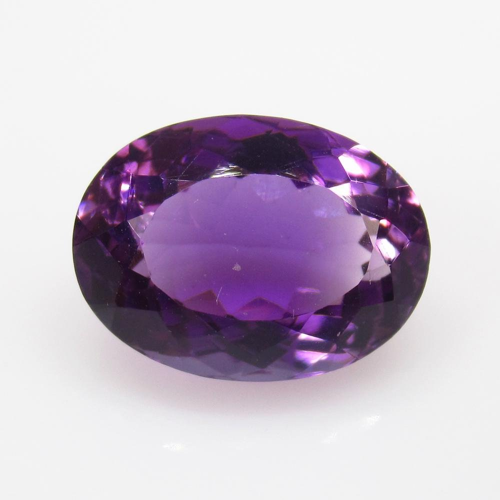 7.59 Ct Natural Purple Amethyst Oval Cut