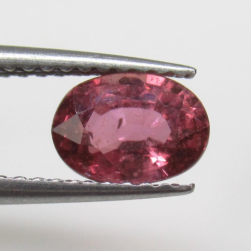 1.19 Ct Natural Ceylon Pink Sapphire Oval Cut