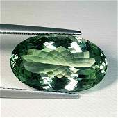 Natural Green Amethyst Oval Cut 12.15 ct