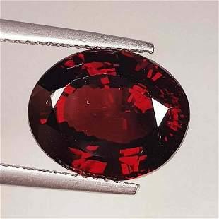 Natural Rhodolite Garnet Oval Cut 9.03 ct